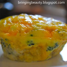 Bringing Beauty: Mini Muffin Omelets
