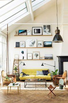 Ideas para decorar tu salón | Decorar tu casa es facilisimo.com