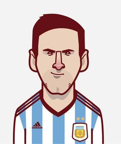 King Messi by David Flanagan www.behance.net/davidflanagan