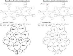EDUCATIA CONTEAZA : INMULTIREA NUMERELOR NATURALE Thing 1, Word Search, Diagram, Math, Words, Math Resources, Horse, Mathematics