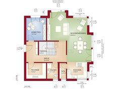 Fantastic 161 V4 – Einfamilienhaus Grundriss EG