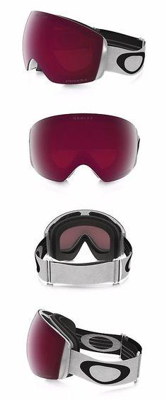 a1b4f87a8c1f Goggles and Sunglasses 21230  Oakley Flight Deck Xm Matte White Prizm Rose  Snow Goggle Oo7064