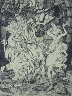 Each in its cauld hand held a light, Fagyos kezökben g. Tam O My Drawings, Ink, Deviantart, Illustration, Painting, Drawings, Painting Art, Paintings, India Ink
