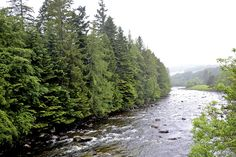 River outside Balmoral Castle