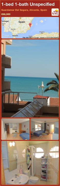 1-bed 1-bath Unspecified in Guardamar Del Segura, Alicante, Spain ►€68,000 #PropertyForSaleInSpain