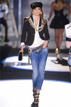 Sfilata DSquared2 Milano - Collezioni Primavera Estate 2013 - Vogue