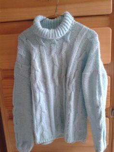 Suéter dama a dos agujas