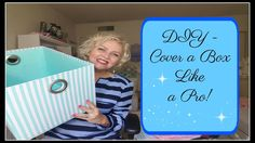 DIY - Fabric Covered Box - YouTube