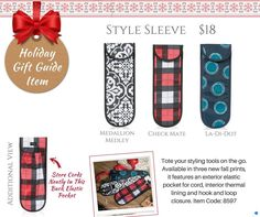 Thirty-One Holiday Gift Guide | 2016 www.mythirtyone.com/gretchenarant