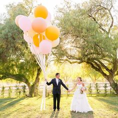 from Last weekend's wedding at Hummingbird Nest Ranch was a dream! We had such a blast and Mel & Pat truly threw a party to remember! On Your Wedding Day, Wedding Tips, Dream Wedding, Hummingbird Nest Ranch, Wedding Balloons, Big Balloons, Bride Book, Romance, California Wedding