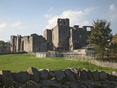 Yorkshire: Middleham Castle. The childhood home of Richard III