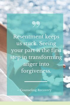 Handling resentments makes a huge difference in making relationships healthy. When you can speak the truth without hurting the other person, relationships thrive! If there is codependency, resentments are hidden but learning how to speak up can increase s
