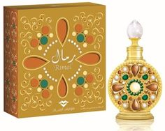 Rimal 15 ml Swiss Arabian Perfume:  Confined in a round-shaped intricate bottle, the divine fragrance of Rimal astounds the wearer with its fresh citrus aroma as soon as it is released in the air. Starting with fresh citrus notes, the aroma stabilizes to floral and fruity middle notes that mesmerizes the surroundings.