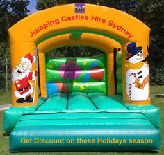 It's always a good idea to take a look at party rentals for your party in the #Sydney.  #Christmas #party #Hire #Jumping #Castles http://www.footyjumpingcastles.com.au/