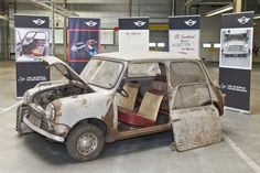 This time-worn Classic Mini is about to get a new lease on life. Follow the MINI reBorn build on MINI Space.
