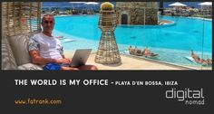 Check where is the best place? Travelling the world and utilising all the amazing locations to use as your office is what digital nomads make the most of.
