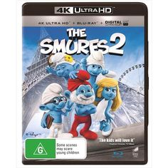 Smurfs 2, The UHD Get ready to get naughty! The evil wizard Gargamel creates a couple of mischievous Smurf-like creatures called the Naughties hoping they will let him harness the magical Smurf-essence. However, he soon discovers that he needs the help of Smurfette, who knows the secret to turning the Naughties into real Smurfs. When Gargamel and his Naughties kidnap Smurfette from Smurf Village and bring her to Paris, it's up to Papa, Clumsy, Grouchy and Vanity to reunite with their human…
