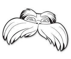 Dr. Seuss' The LORAX Masks