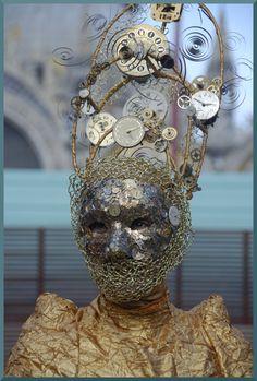 Steampunk venice mask