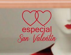 . Decoración escaparates tiendas y comercios con vinilos para el Día de San Valentín 04202