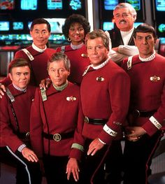 Star Trek The Wrath Of Khan uniform costumes