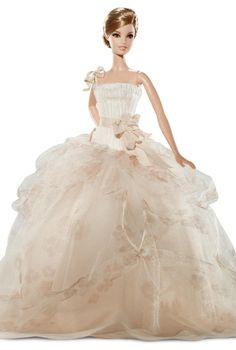 Once more, Barbie gets the best dresses!  (Vera Wang!)
