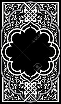 mandala design vector free download - Google Search Islamic Motifs, Islamic Patterns, Islamic Art, Stencil Patterns, Pattern Art, Pattern Design, Motif Design, Border Design, Motif Arabesque