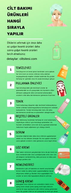 Cilt Bakımı Sıralaması Skin care products are made in which order, which process comes first, all the details on this Homemade Skin Care, Applications, Face Skin, Face Care, Good Skin, Beauty Skin, Skin Care Tips, Healthy Life, About Me Blog