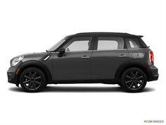 royal grey, black top with black tires.. mini cooper countryman - 2014