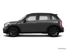 royal grey, black top with black tires.. mini cooper countryman - 2014
