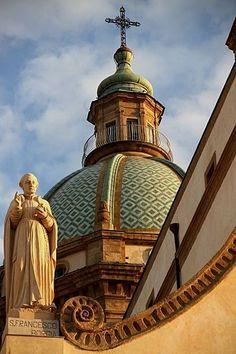 Casa Professa, Palermo, Sicily, Italy this used to be a mosque in the 12c! #palermo #sicilia #sicily