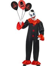 : Smiffy's Usa Men's Schitzo Clown Costume Multicoloured Small: Toys & Games