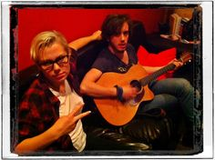 Artists Phoebe and Harrison Rocked ES Audio #RecordingStudio in L.A. this Weekend:)  #Rock On!:)  www.esaudio.com 2013