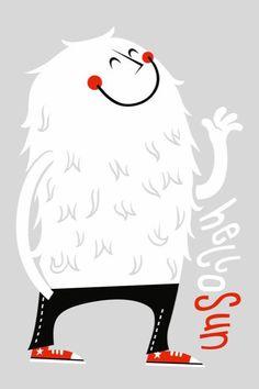 Hola Sol.Funny illustrations by Greg Abbott