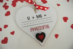 U + Me = Awesome - Divine Shabby Chic