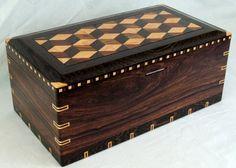 Cocobolo, Wenge & Bird's Eye Maple Humidor - Reader's Gallery - Fine Woodworking