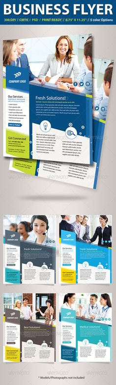 Multipurpose Business Flyer — Photoshop PSD #colorful #template • Available here → https://graphicriver.net/item/multipurpose-business-flyer/5043550?ref=pxcr