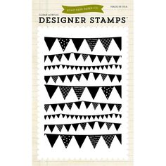 Echo Park Stamps Pennant