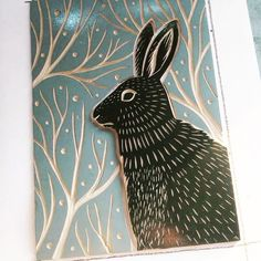 I'm back to printmaking again! Here is a short video of yesterday's linocut printing. It's unbelievable for me, but almost a year has gone… Linocut Prints, Art Prints, Block Prints, Lino Art, Linoprint, Guache, Gravure, Woodblock Print, Letterpress