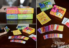 HoliMaths X – A Math Game for the Family