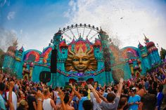 Tomorrowland – The best European music festivals.