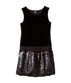 Ella Moss Girl Chloe Dress (Big Kids) Black - Zappos.com Free Shipping BOTH Ways