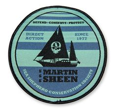 R/V Martin Sheen Patch - 160146 | Sea Shepherd Conservation Society