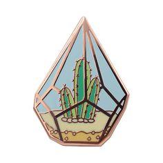 008f34d16 Cactus Enamel Pin Cute Geometric Terrarium Lapel Backpacks Decor Badge 1  Piece | eBay Lapel Pins