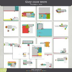 Templates:  They Once Were v4 by Amy Martin