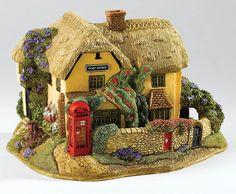 Lilliput Lane Stay In Touch 2016 Anniversary Cottage Devon Ornament 8cm L3773 UK