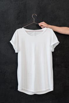 My goal: too feel fit, fab, and confident in a plain white T.