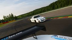 Porsche 911 GT3 RS chasing the Lotus 2-Eleven