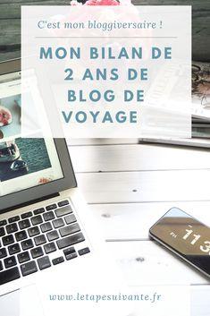 Et maintenant, quel est le bilan, après ces 2 ans de blog de voyage ? Je ne regrette pas une minute, j'y prends beaucoup de plaisir, j'ai développé de nombreuses compétences et j'ai vécu plein de belles expériences. Je vous ai donc préparé un best-of de mon expérience de blogging voyage. Destinations, Minute, Organiser, Blog Voyage, Articles, Balance Sheet, Tips And Tricks, Custom In, Tips