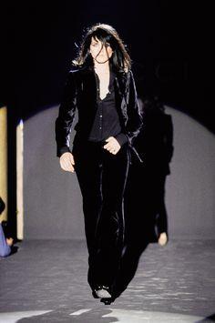 Gucci Fall 1995 Ready-to-Wear Fashion Show - Michele Hicks